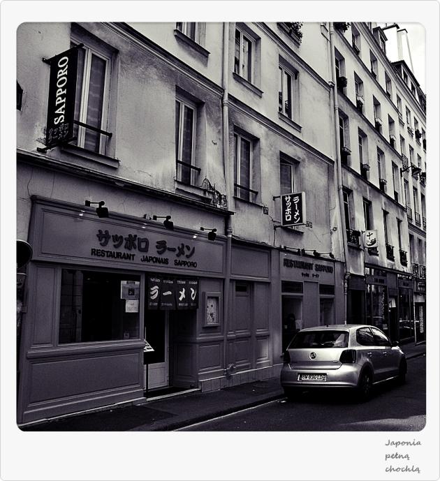 Rue Sainte-Anne - ulica japońska w Paryżu