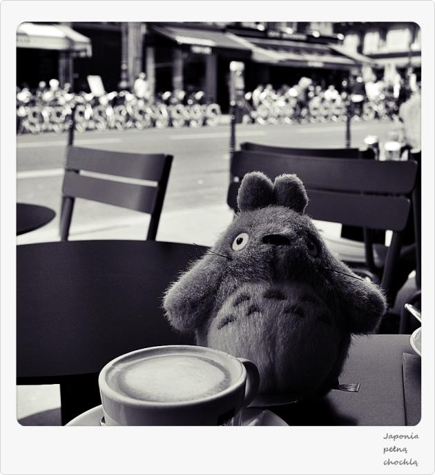 Totoro w Paryżu